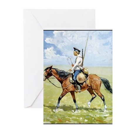 Best Seller Wild West Greeting Cards (Pk of 20)