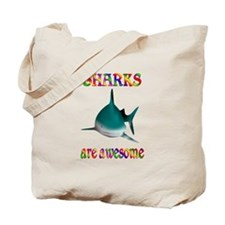 Awesome Sharks Tote Bag