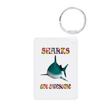 Awesome Sharks Keychains