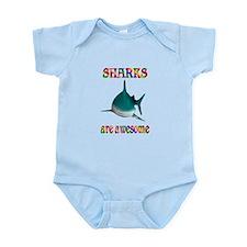 Awesome Sharks Infant Bodysuit