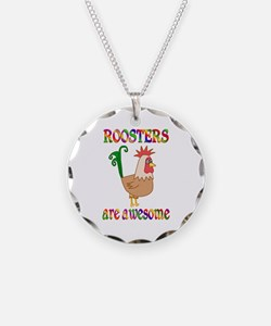 Awesome Roosters Necklace