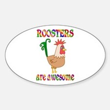 Awesome Roosters Decal