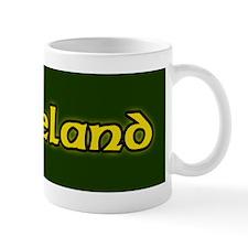 Green Celtic ireland Shamrock Mug