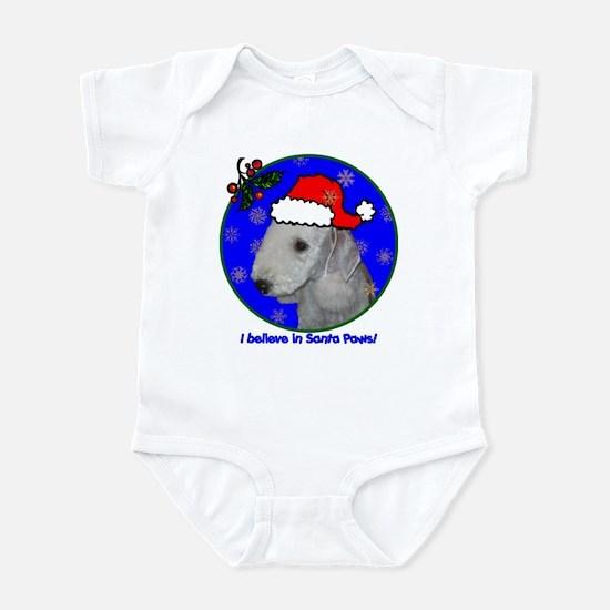 SANTA PAWS Bedlington Infant Bodysuit