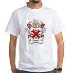 de Raadt Coat of Arms White T-Shirt