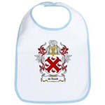 de Raadt Coat of Arms Bib