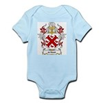 de Raadt Coat of Arms Infant Creeper