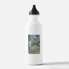 Little Mermaid Illustration Water Bottle