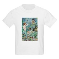Little Mermaid Illustration T-Shirt