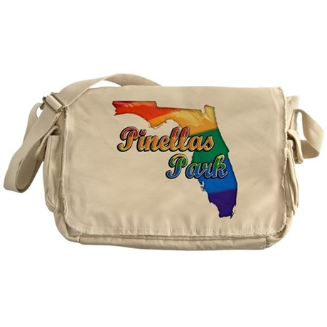 Pinellas Park, Florida, Gay Pride, Messenger Bag