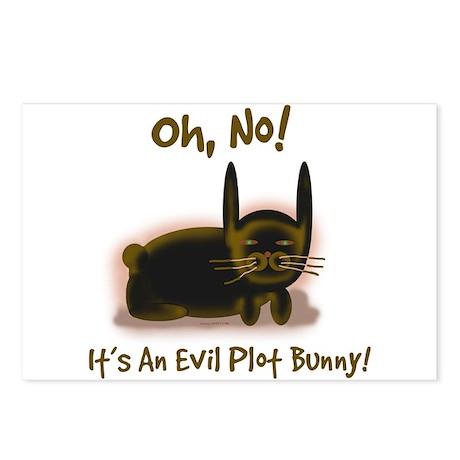Evil Plot Bunny Postcards (Packof 8)