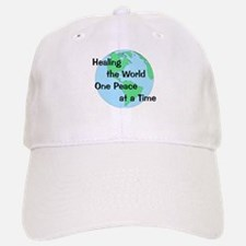 Healing the World Baseball Baseball Cap