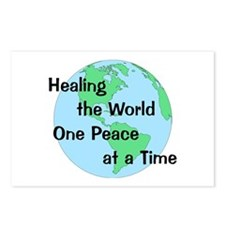 Healing the World Postcards (Package of 8)
