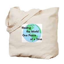 Healing the World Tote Bag