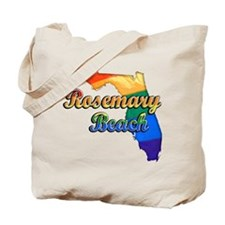 Rosemary Beach, Florida, Gay Pride, Tote Bag