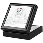 Maltese Portrait Keepsake Box