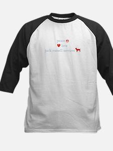 Peace, Love & Jack Russell Terrier Tee