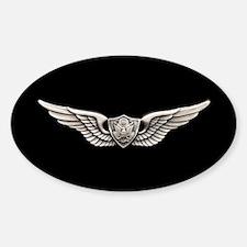 Aviation Crew Member Sticker (Oval)