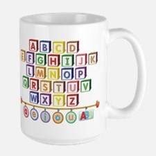 ABC Blocks Large Mug
