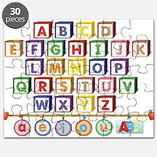 ABC Blocks Puzzle