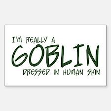 I'm Really a Goblin Decal