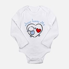Cute Jesus infant Long Sleeve Infant Bodysuit