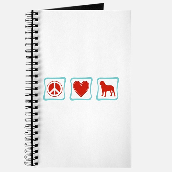 Peace, Love and Mastiffs Journal