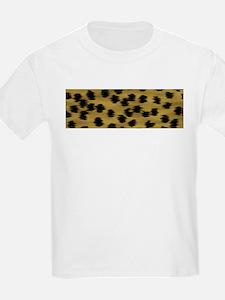 Cheetah Animal Print Pattern T-Shirt