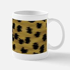 Cheetah Animal Print Pattern Mug
