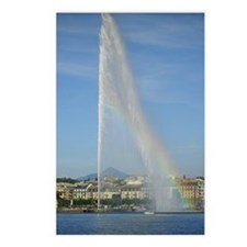 Jet d'Eau Lake Geneva Switzerland Postcard