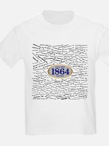 1864 Civil War Battles T-Shirt