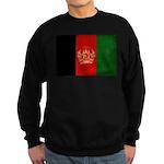 Afghanistan Flag Sweatshirt (dark)