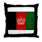 Afghanistan Flag Throw Pillow