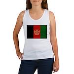 Afghanistan Flag Women's Tank Top