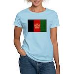 Afghanistan Flag Women's Light T-Shirt