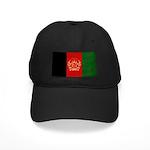 Afghanistan Flag Black Cap