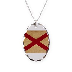 Alabama Flag Necklace