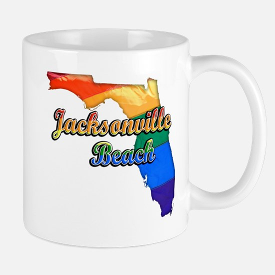 Jacksonville Beach, Florida, Pride, Mug