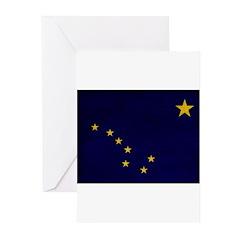 Alaska Flag Greeting Cards (Pk of 20)