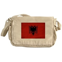 Albania Flag Messenger Bag