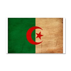 Algeria Flag Car Magnet 20 x 12