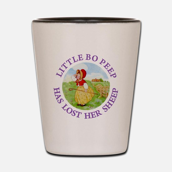 Little Bo Peep Shot Glass