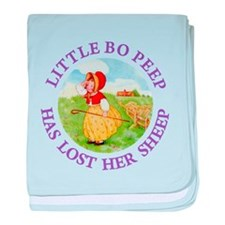 Little Bo Peep baby blanket