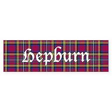 Tartan - Hepburn Bumper Sticker