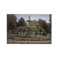 Forsyth Park Fountain Rectangle Magnet