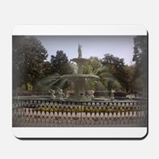 Forsyth Park Fountain Mousepad