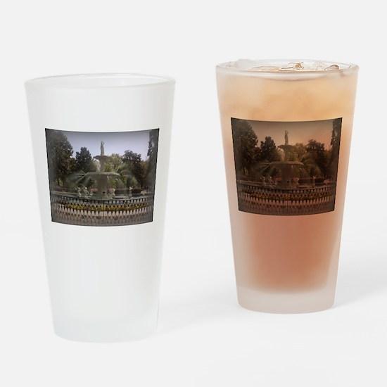Forsyth Park Fountain Drinking Glass