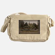 Forsyth Park Fountain Messenger Bag