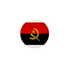 Angola Flag Mini Button (100 pack)