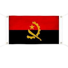 Angola Flag Banner